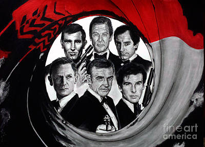 James Bond Tribute Poster