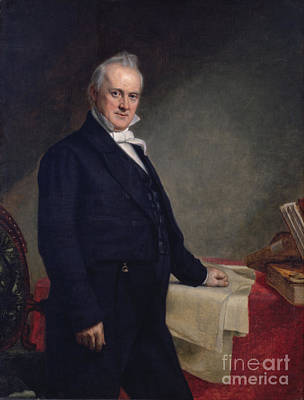 James Buchanan Poster by Celestial Images