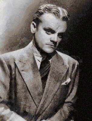 James Cagney Hollywood Actor Poster