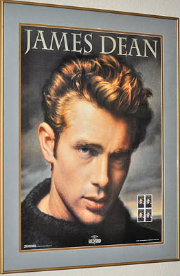 James Dean Hollywood Legend Poster
