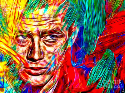 James Dean In Color Poster