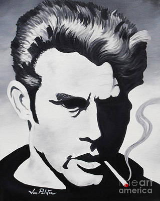James Dean  Poster by Joseph Palotas