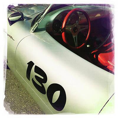 James Dean Porsche 130 Poster by Nina Prommer