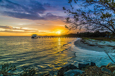 James Island Sunrise - Melton Peter Demetre Park Poster