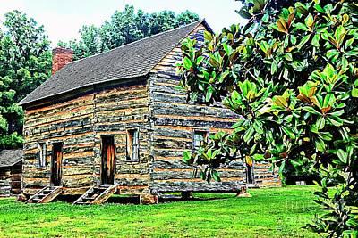 James K. Polk Boyhood Home Poster by Bob Pardue