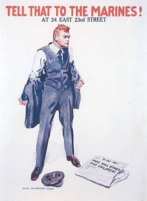 James Montgomery Flagg, 1918 Poster