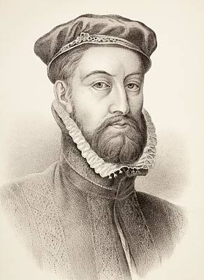 James Stewart, 1st Earl Of Moray C. 1531 Poster by Vintage Design Pics