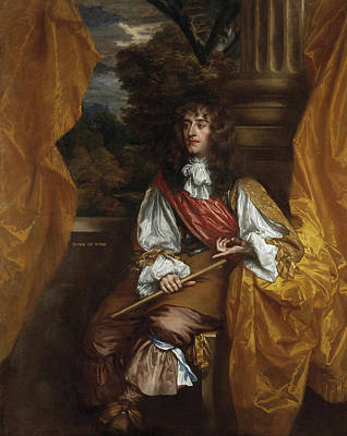 James Vii And II, When Duke Of York Poster by Peter Lely