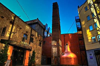 Jameson Distillery Poster by Justin Albrecht