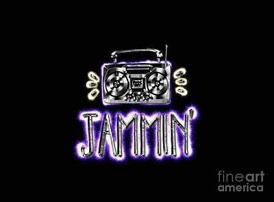 Jammin' Poster by Terry Weaver
