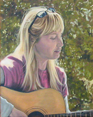 Janine Singing Poster