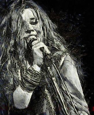 Janis Joplin 1969 Poster