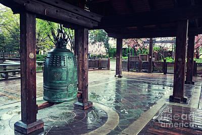 Japanese Bell In Kariya Park Poster by Charline Xia