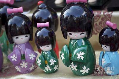 Japanese Dolls Poster