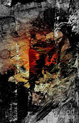 Japonaise 4 Poster by Nancy Kane Chapman