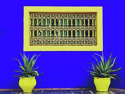 Jardin Majorelle, Marakesh Poster
