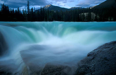 Jasper - Athabasca Falls 2 Poster