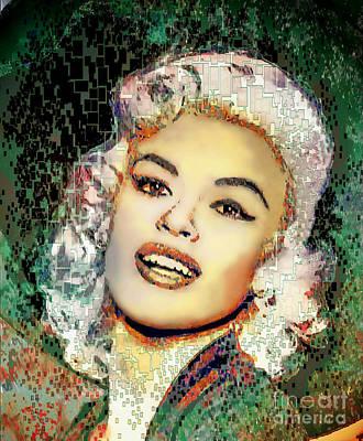 Jayne Mansfield - Pop Art Poster