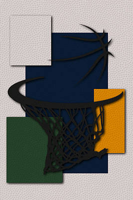 Jazz Hoop Poster by Joe Hamilton