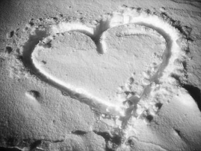 Winter Heart Poster