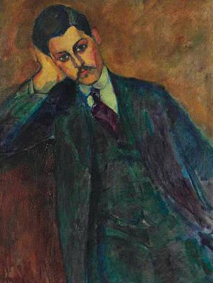 Jean Alexandre, 1909 Poster by Amedeo Modigliani