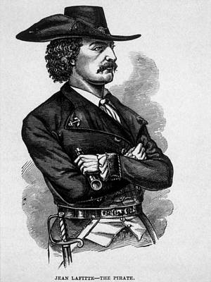 Jean Lafitte, C.1780-1826, Leader Poster by Everett