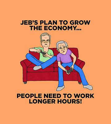 Jeb Bush Poster by Sean Corcoran