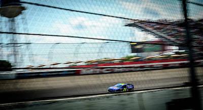 Jeff Gordon's Last Race At Mis Poster