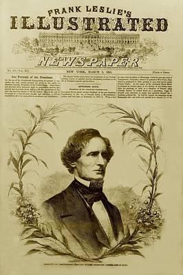 Jefferson Davis 1808-1889, First Poster by Everett