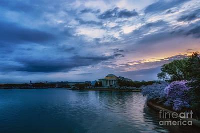 Jefferson Memorial Dawn Poster