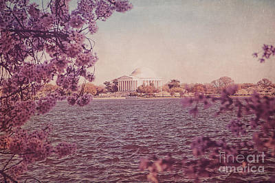 Jefferson Memorial During Spring Poster