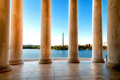 Jefferson To Washington Poster