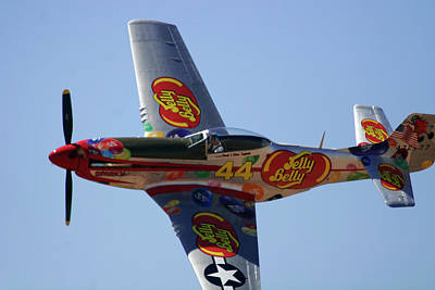 Jelly Belly P-51 Poster