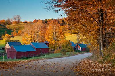 Jenne Farm Glow Poster by Susan Cole Kelly