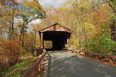 Jericho Covered Bridge Poster