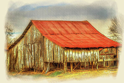 Poster featuring the photograph Jerry's Barn by Barry Jones