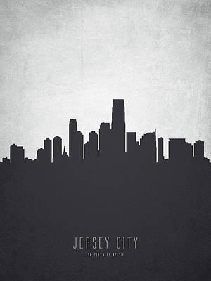 Jersey City New Jersey Cityscape 19 Poster