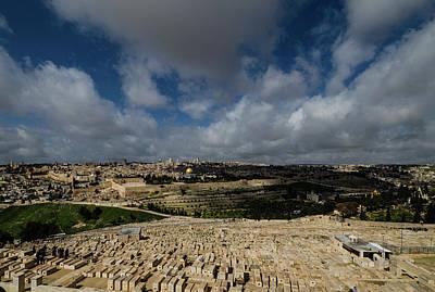 Jerusalem From Mount Of Olives Poster