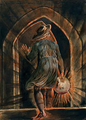 Jerusalem, Plate 1, Frontispiece Poster by William Blake