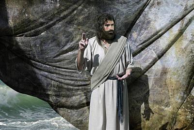 Jesus Calms The Storm Poster