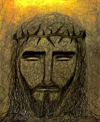 Jesus Christ Poster by Nicole  Cris