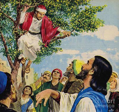 Jesus Christ Forgives A Thief Poster