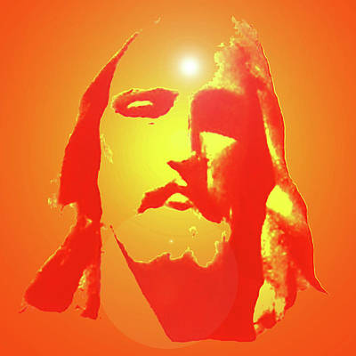 Jesus Christ No. 01 Poster by Ramon Labusch