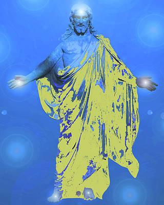 Jesus-energy. No. 11 Poster by Ramon Labusch