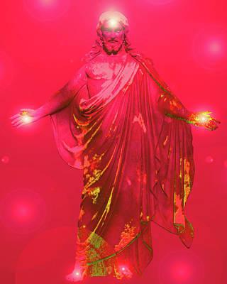Jesus-energy No. 31 Poster by Ramon Labusch