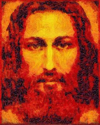 Jesus Light Of The World Poster