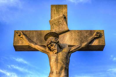 Jesus Statue Poster by David Pyatt