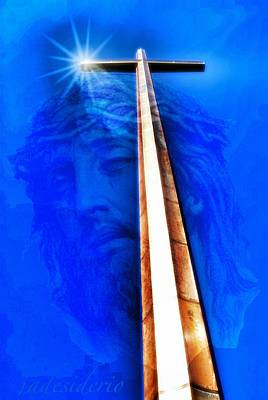 Jesus Wept Poster by JoeDes Photography
