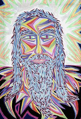Jesus Year 2000  Detail A Poster by Robert SORENSEN