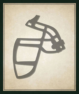 Jets Face Mask Poster by Joe Hamilton